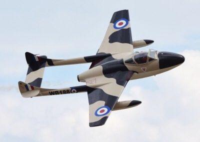 de Havilland DH-115 - Vampire Airshows