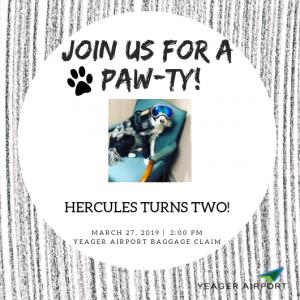 Hercules Birthday Party Yeagar Airport