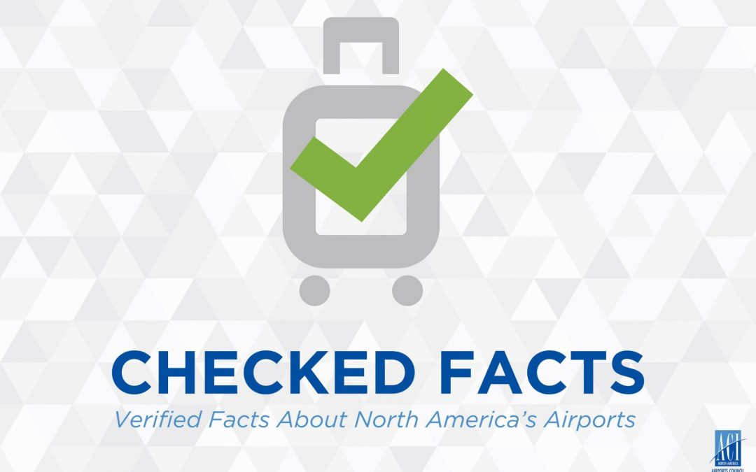 ACI-NA Centerlines Now – Checked Facts: Airports Are Not Taxpayer Funded