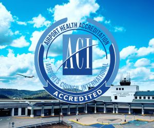 Awarded Health Accreditation | Yeager Airport