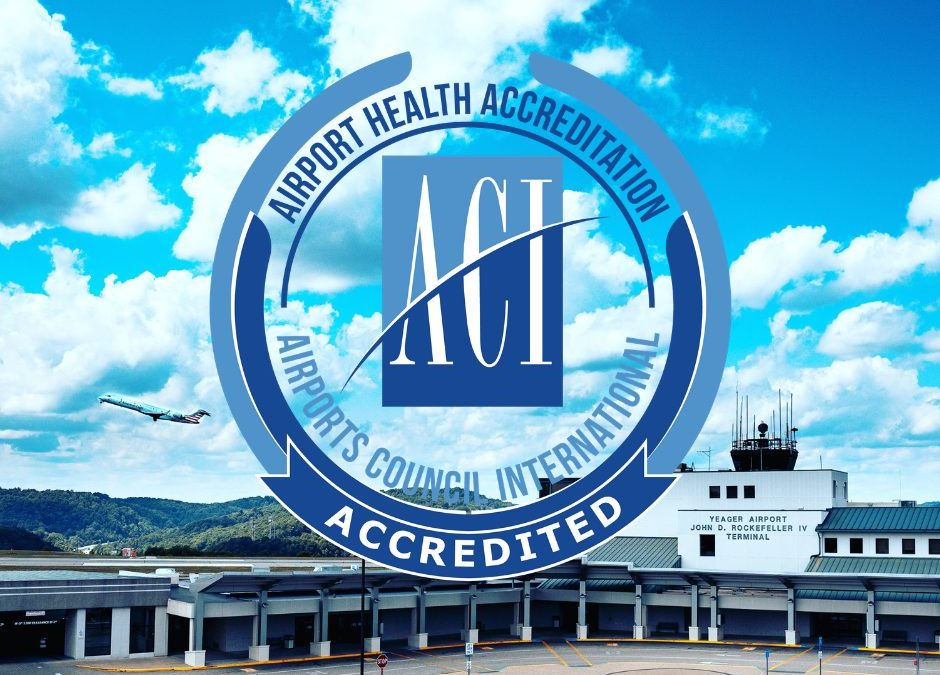 02/12/2021 – PRESS RELEASE – YEAGER AIRPORT AWARDED HEALTH ACCREDITATION